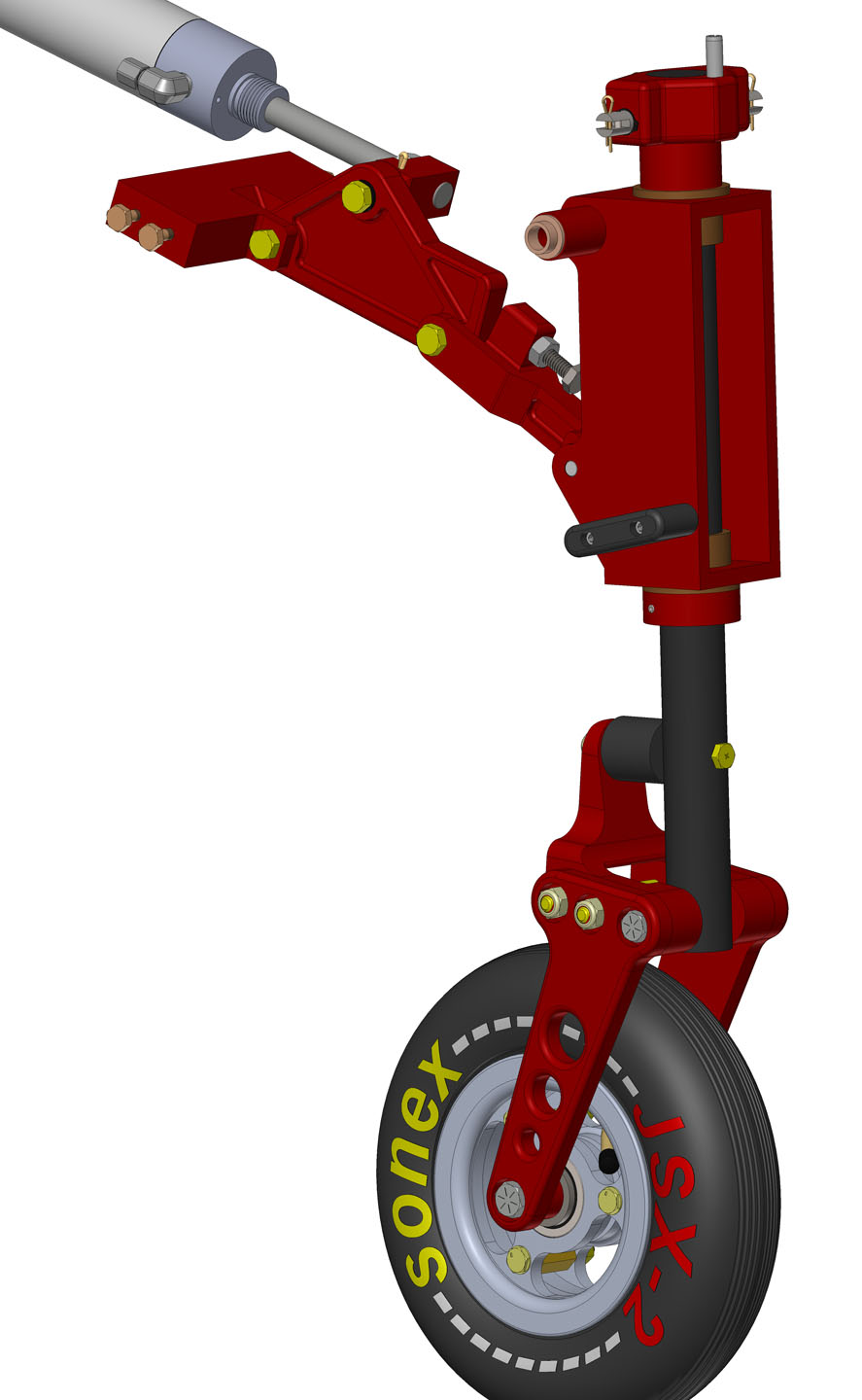 SubSonex Retractable Nose Gear