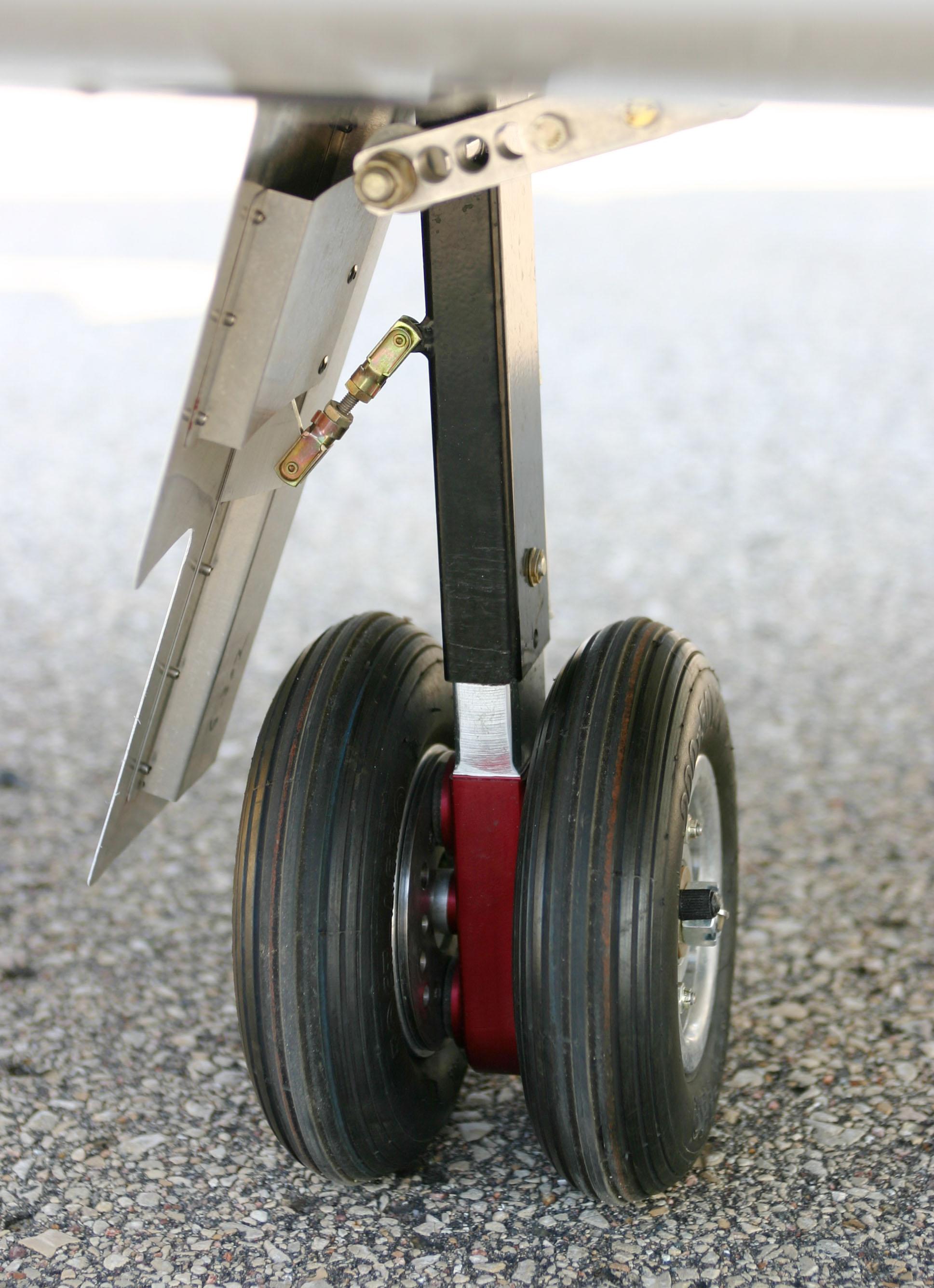 Retract Landing Gear Assembly : The subsonex kit sonex aircraft