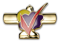 Gold Wings Pin