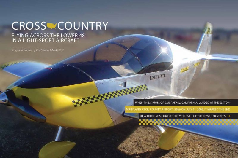 "EAA Sport Pilot Magazine: ""Cross Country"