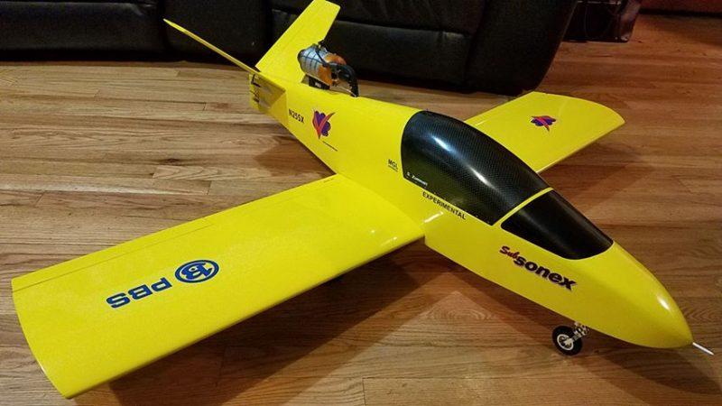 1/4 Scale RC SubSonex by Scott Zumwalt – Sonex Aircraft